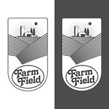 Farmers with fields badges
