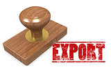 Export wooded seal stamp