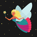 Vector Character Fairy