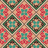 Ethnic Ukrainian colourful broidery