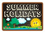 School holidays theme image 2