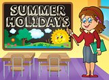 School holidays theme image 7