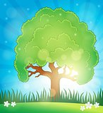 Spring topic background 5