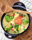 Vegetables Creamy Soup