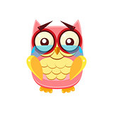 Tearful Pink Owl