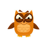 Furious Brown Owl
