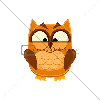Cross-eyed Brown Owl