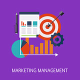 Marketing Management Concept Art