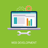 Web Development Concept Art