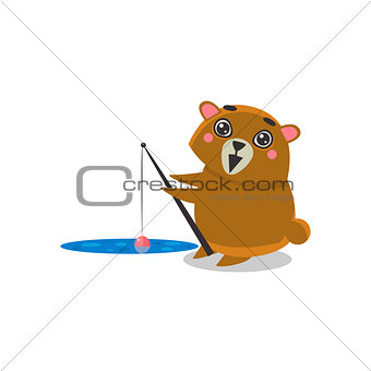 Fishing Brown Bear