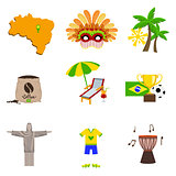 Traditional Brasilian Symbols