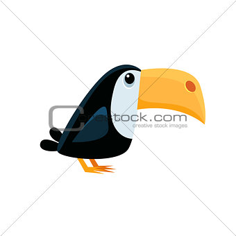 Toucan Funny Illustration