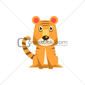 Tiger Funny Illustration