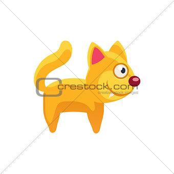 Cat Simplified Cute Illustration