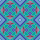 Ethnic Ukrainian multicolour broidery