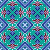 Ethnic Ukrainian multicolour broidery