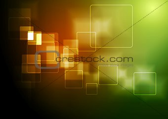 Bright technology geometric background