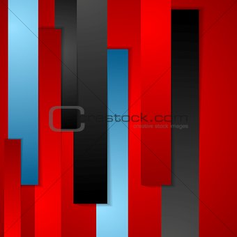 Abstract bright geometric background