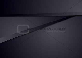 Corporate dark blue abstract vector background