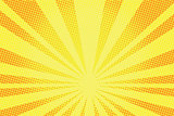 retro comic yellow background raster gradient halftone