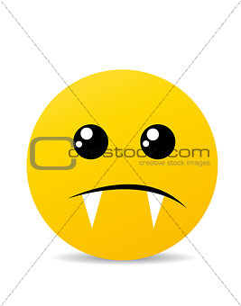 Modern yellow emotion