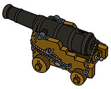 Historic naval cannon