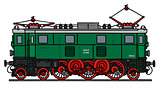 Classic electric locomotive