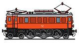 Classic electric locomotive