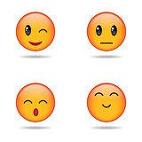 Set of emoji