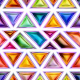 Seamless texture of abstract bright shiny colorful  3D illustration
