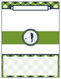 Golf Tournament Flyer Blank Template