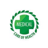 vector logo medical