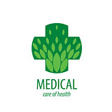 vector logo medical