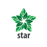 vector logo star