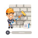 Worker Priming Wall