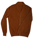 casual men's cardigan