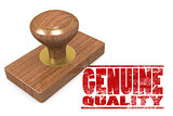 Genuine quallity wooded seal stamp