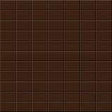 Chocolate tile - seamless vector background.