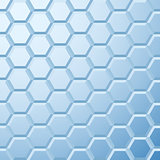 Abstract blue tiled background
