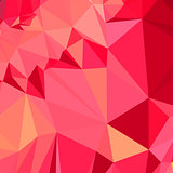 American Rose Red Abstract Low Polygon Background