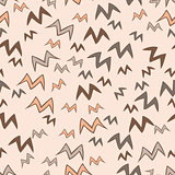 Spring birds seamless pattern.