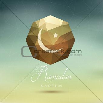 Abstract Ramadan background