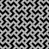 silver oriental swastika pattern