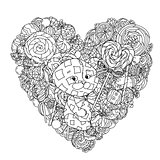 toy for coloring book