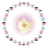tea party vector