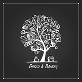 Bakery tree concept for your design