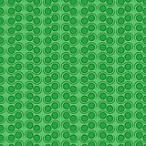 Seamless pattern in green hues