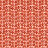 Seamless pattern in coral hues