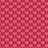 Seamless pattern in red and pink hues