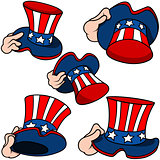 Uncle Sam Hat Set